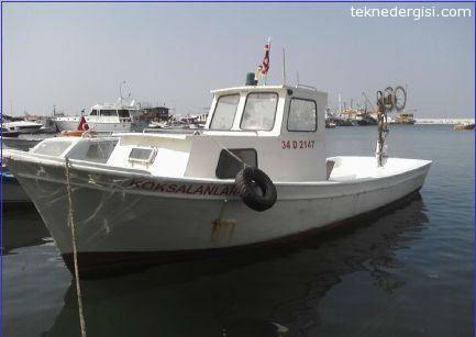 8 Metre Balıkçı Teknesi