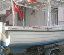 Fethiyede Fiber Tekne