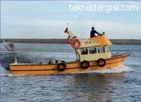Sıfır Ruhsatlı Balıkçı Teknesi