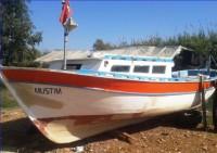 Serikte 8 Metre Satılık Ahşap Tekne