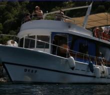 Marmaris'te Tur ve Dalış Teknesi