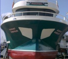 Bandırma'da Sac Balıkçı Teknesi