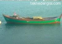 Urla'da Ahşap Tekne