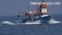 Samsun'da Balıkçı Teknesi