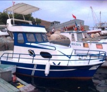 Bandırma'da 7 Metre Sac Tekne