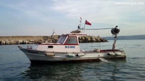 Satılık 7 metre tekne