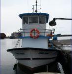 Samsun'da Temiz Balıkçı Teknesi