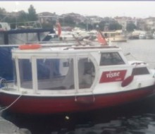 Fiber Dizel Motorlu Tekne