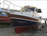 Bartın'da 10 Metre Ahşap Tekne