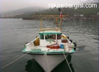 Ordu'da 7,60 Balıkçı Teknesi Ruhsatlı ACİL