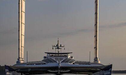 Toyota'nın Hidrojenle Çalışan Teknesi Suda..