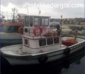 Güzelbahçe'de Satılık Ahşap Balıkçı Teknesi