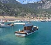 Kurucaşile Yapımı Tekne Antalya'da