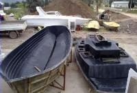 Bodrum'da Fiber Tekne Kalıbı