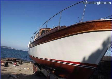 Aliağa Ahşap Tekne