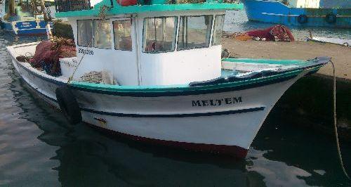 Ahşap Balıkçı Teknesi