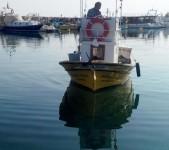 Balıkesir'de Ahşap Balıkçı Teknesi