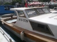 Acil Satılık Plakalı Tekne