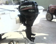 4 m safter+ 15 hp 4 zamanlı mercury+remörk
