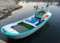 Satılık 6 Metre Ahşap Tekne