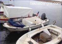 İzmir'de Fiber Tekne
