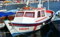 Kamaralı Balıkçı Teknesi