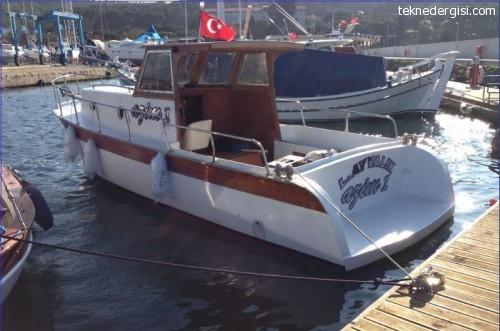 Ayvalıkta Satılık Tekne
