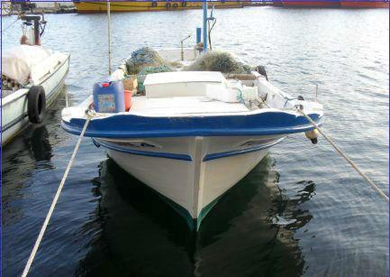 Sinopta Ahşap Balıkçı Teknesi