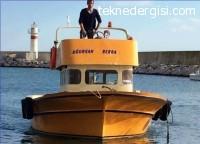 Yeşil Ruhsatlı Balıkçı Teknesi