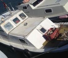 Çanakkale'de 7,20 Ahşap Tekne
