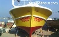 Hatay'da 8,50 Ahşap Tekne