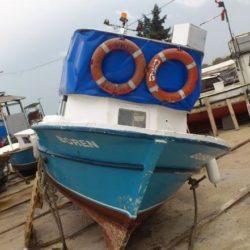 Karamürselde Ahşap Tekne