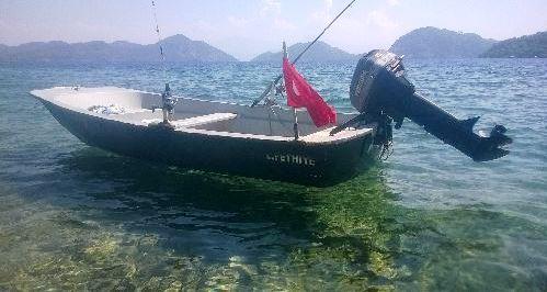 Muğlada Fiber Tekne