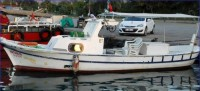İskenderun'da Kurucaşile Yepımı Balıkçı Teknesi