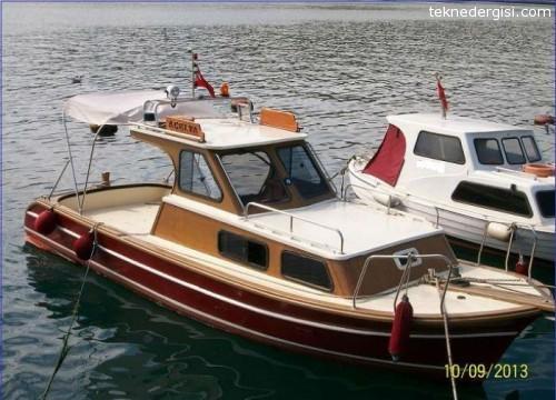 Satılık İkinci El Ahşap Tekne