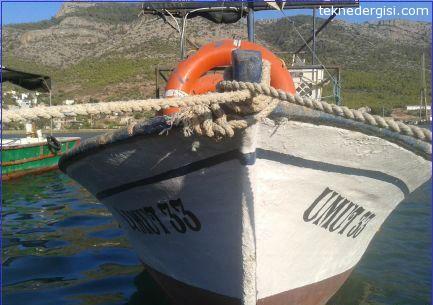 Mersin Balıkçı Teknesi