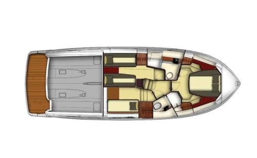 Azimut Magellano 43 Plan