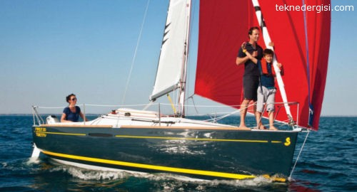 Beneteau First 20 Seyirde