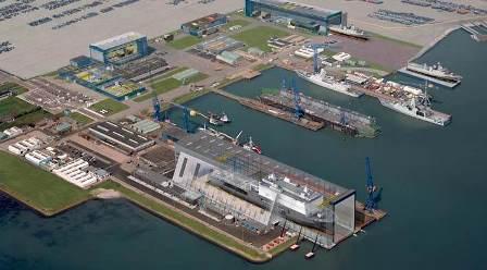 Damen Shipyards Antalya'da Tekne Üretecek