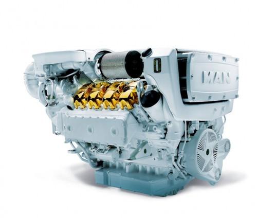 Dizel Tekne Motoru
