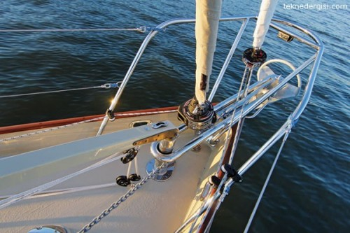 Yelkenli Tekne Bastonu