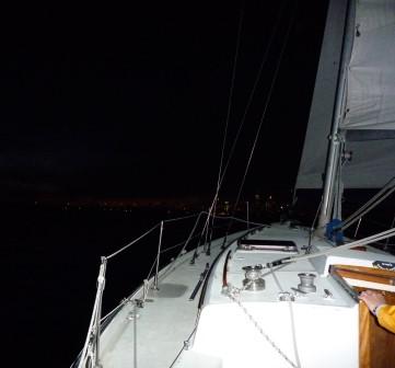 denizde renkler ve gece seyri