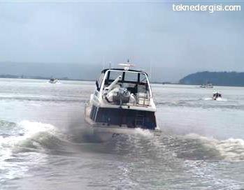 dizel tekne motor dumani