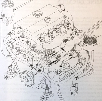 dizel tekne motoru - teknik