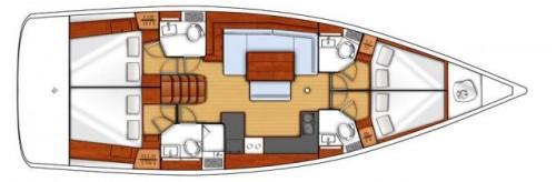 oceanis 48 plan