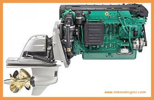 stern drive motor